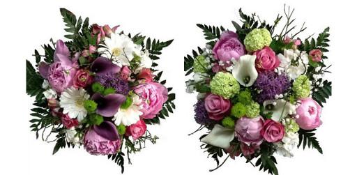 Exemple de bouquet de mariée